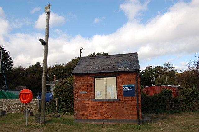 Harbour Master's Office at Lydney docks