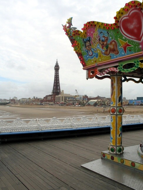 Blackpool Tower from the Central Pier