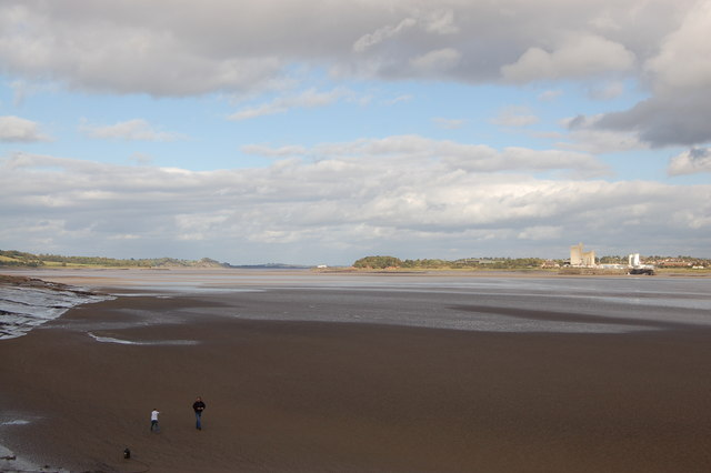 Saniger Sands and the River Severn from Lydney harbour