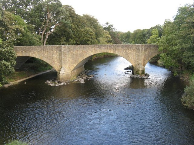 The new Ancrum Bridge