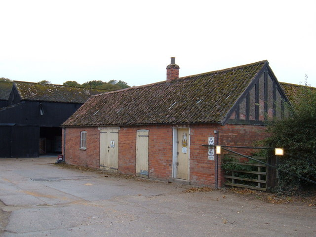 Farm Buildings near Dalton Hall