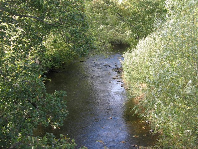 The Ale Water at Ancrum