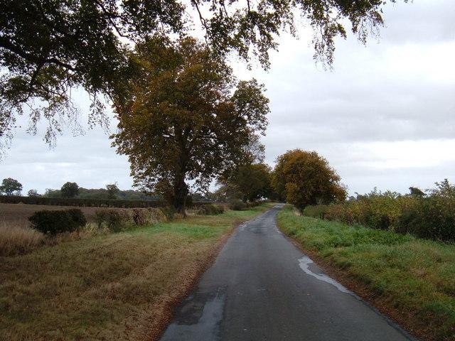 Mere Lane near South Dalton