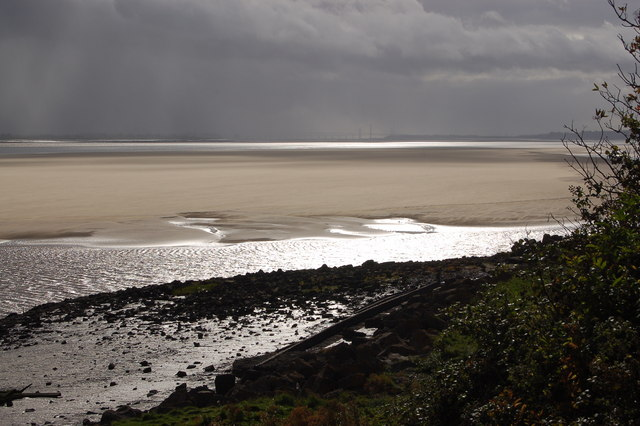 Storm over Lydney Sands