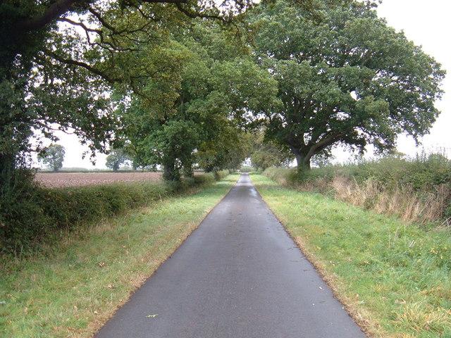 Mere Lane East of South Dalton