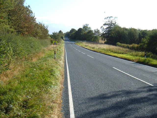 B1248 towards Beverley