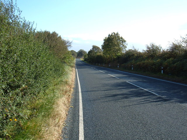 B1248 towards Beverley