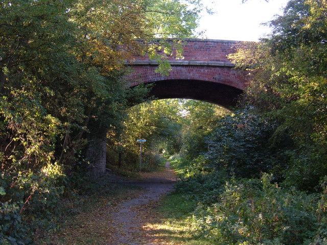 Bridge over former York to Beverley Railway