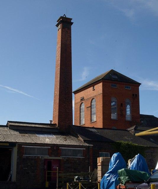 Brewery buildings, Wiveliscombe