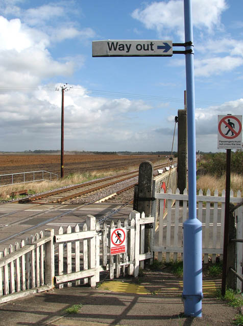 Level crossing at Shippea Hill