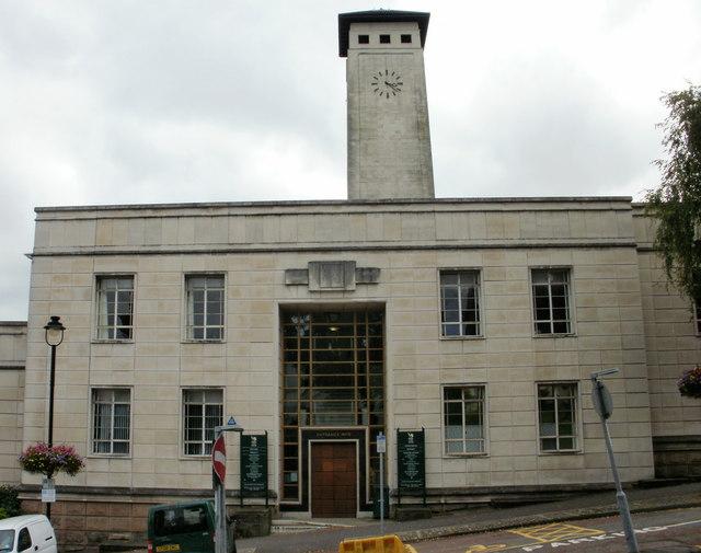 Newport Civic Centre Entrance 3