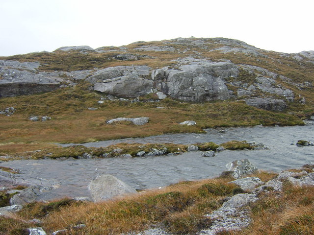 Unnamed lochan on Mullach na h-Airde Bige