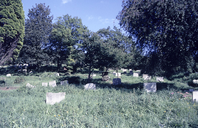 St Peter's Churchyard, Thundersley, looking south