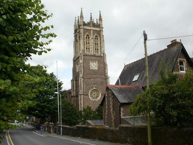 Church of St Mark, Gold Tops, Newport
