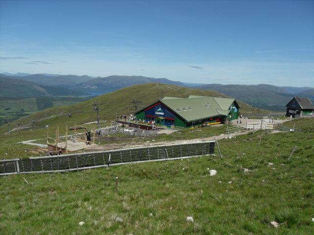 Top Station Nevis Ski lift Aonach Mor