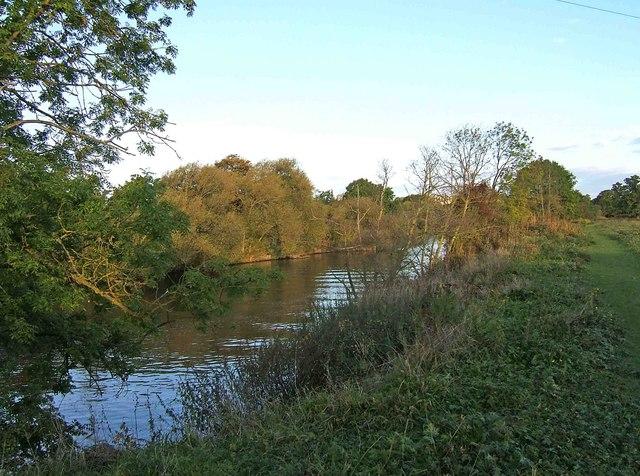 River Severn near Northwick, Worcester