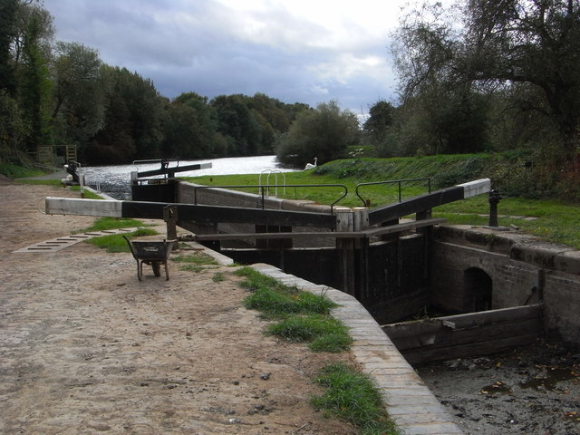 Lock No. 8 - Droitwich Barge Canal