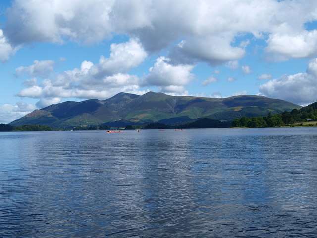 View to Skiddaw from the Ferry