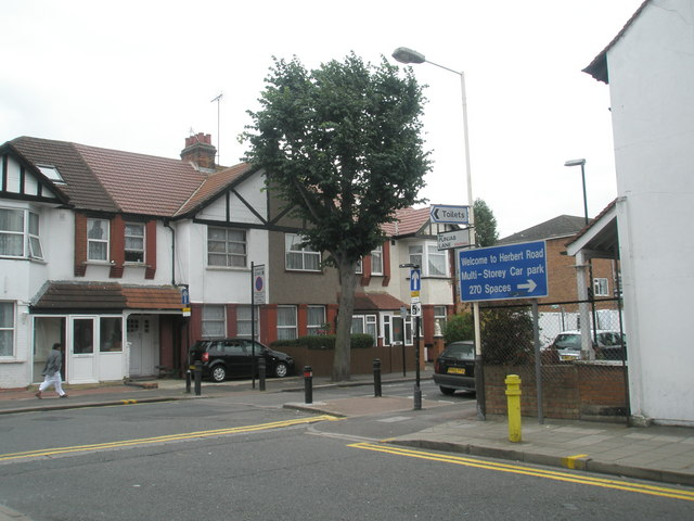 Junction of Orchard Road and Punjab Lane