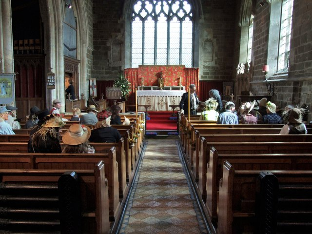 Interior of the Church of St Peter & St Paul, Old Bolingbroke