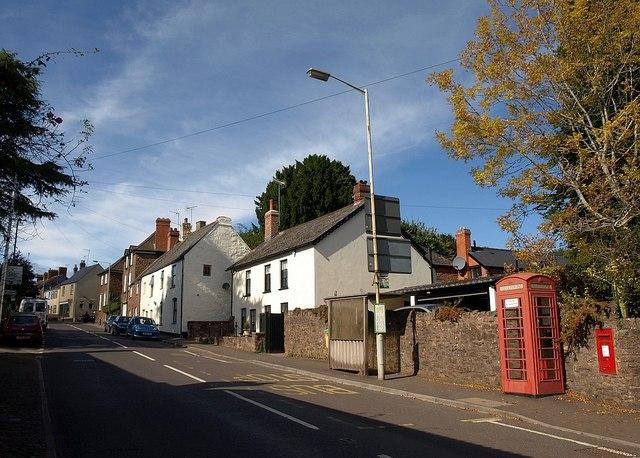 Church Street, Wiveliscombe
