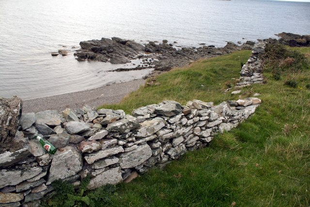 Dry Stone Wall at Cemlyn Bay, Anglesey