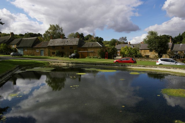 Warmington village centre
