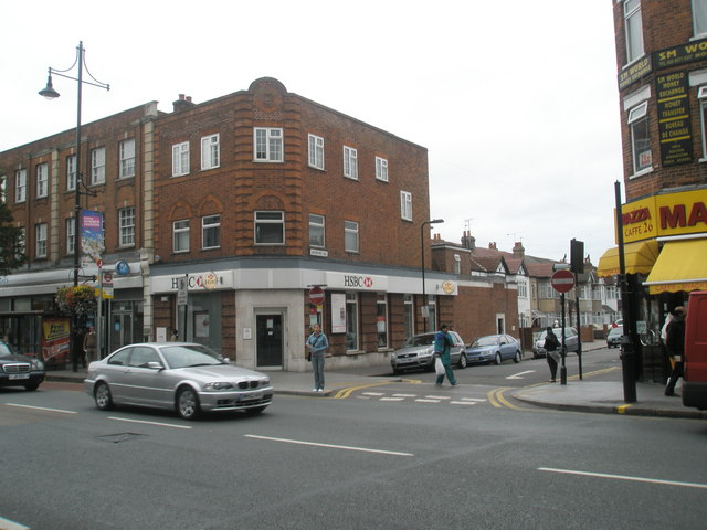 Junction of  The Broadway and Greenford Avenue
