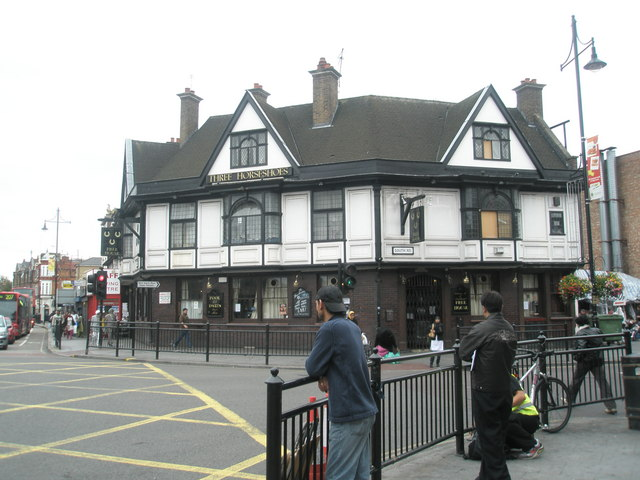 The Three Horseshoes in the centre of Southall