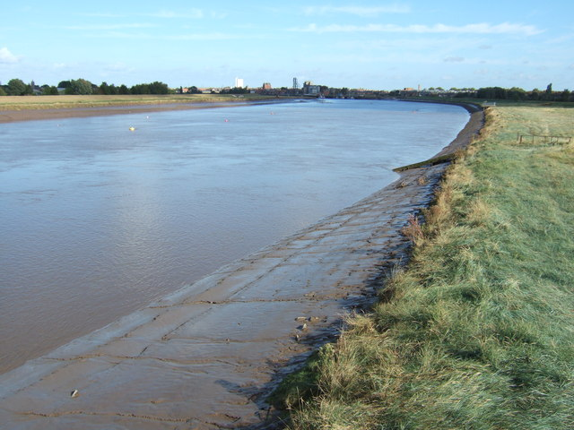 The River Great Ouse looking towards Kings Lynn