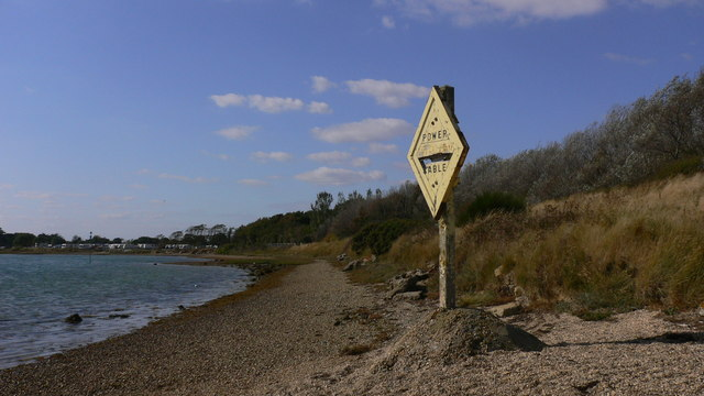Dilapidated sign on beach south of Selsmore