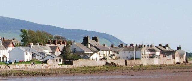 Ravenglass across the River Mite