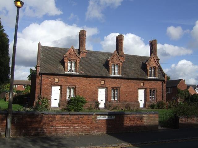 Almshouses in Manor Road