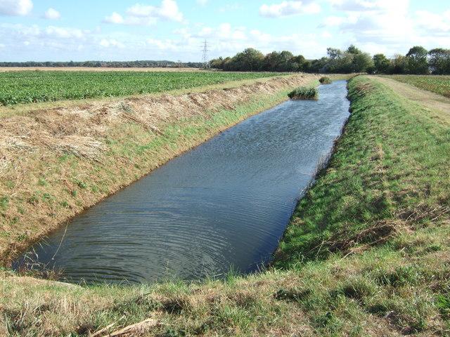 Drainage channel, North Lynn