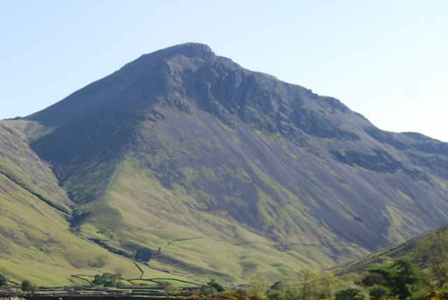 Great Gable from Wasdale Head