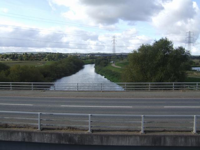 River Trent upstream of High Bridge