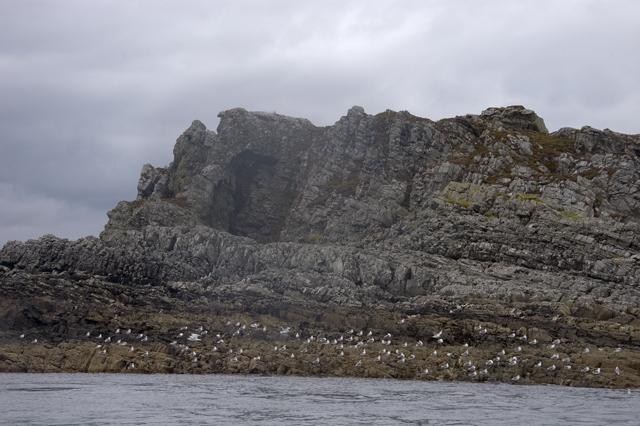 The cliffs of Carraig Mhor