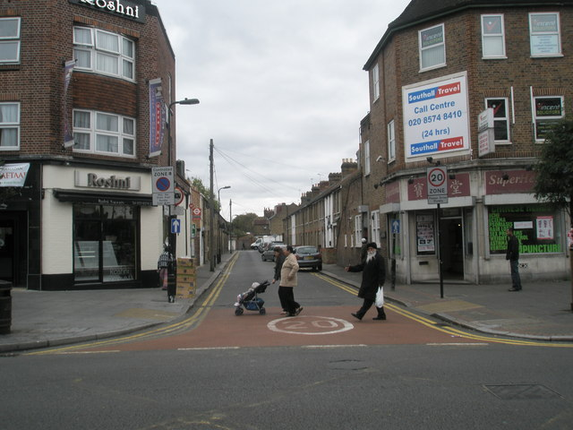 Looking from South Road into Hamilton Road