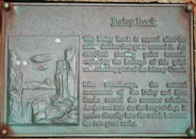 Plaque on Daisy Rock