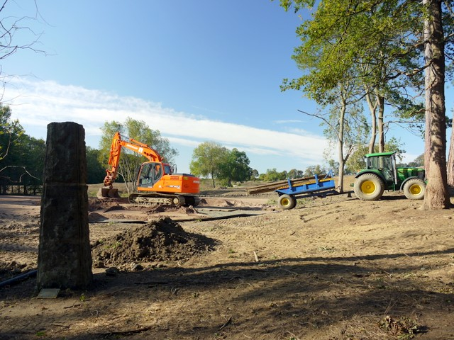 Construction of new golf course, Close House