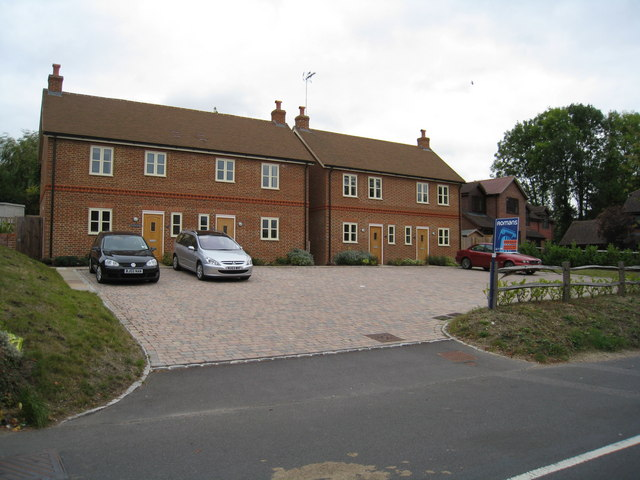 New houses in Old Basing