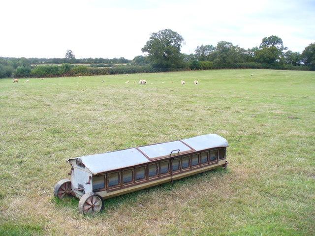 Field by Winkins Woods Farm