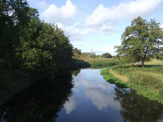 River Trent upstream of Armitage