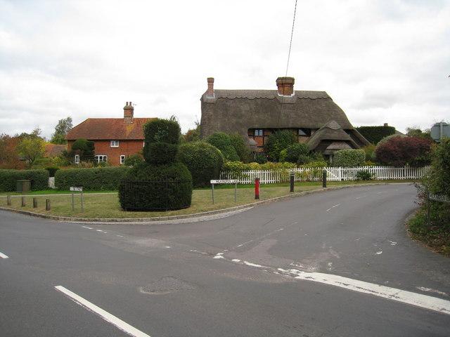 The Street / Milkingpen Lane