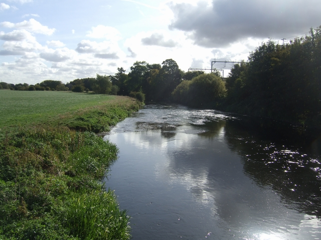 River Trent downstream of Armitage
