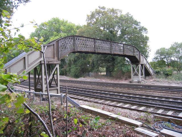 Rileys Stile Footbridge