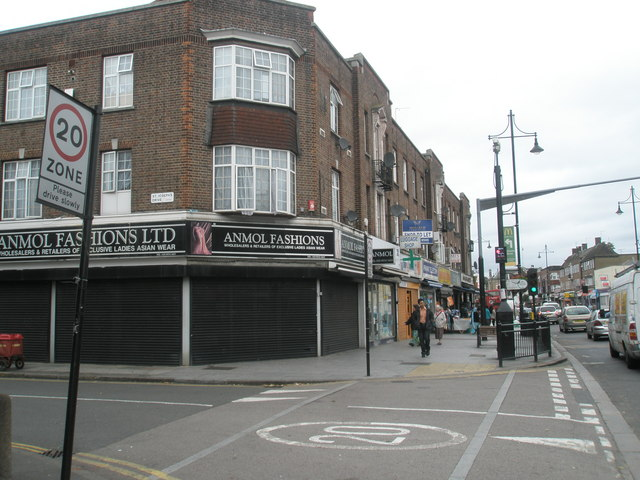 Junction of St Joseph's Drive and South Road