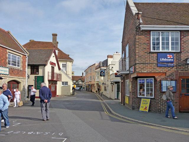 Quay Street, Yarmouth, Isle of Wight