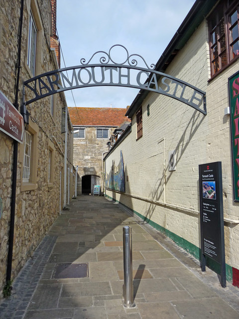 Entrance to Yarmouth Castle, Isle of Wight