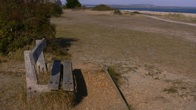 Seat in the south east corner of Hayling Island